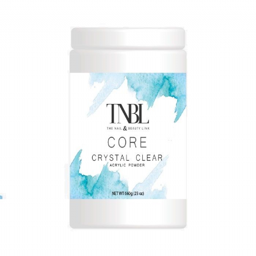 TNBL Core Acrylic Powder - Crystal Clear 660g / 23oz